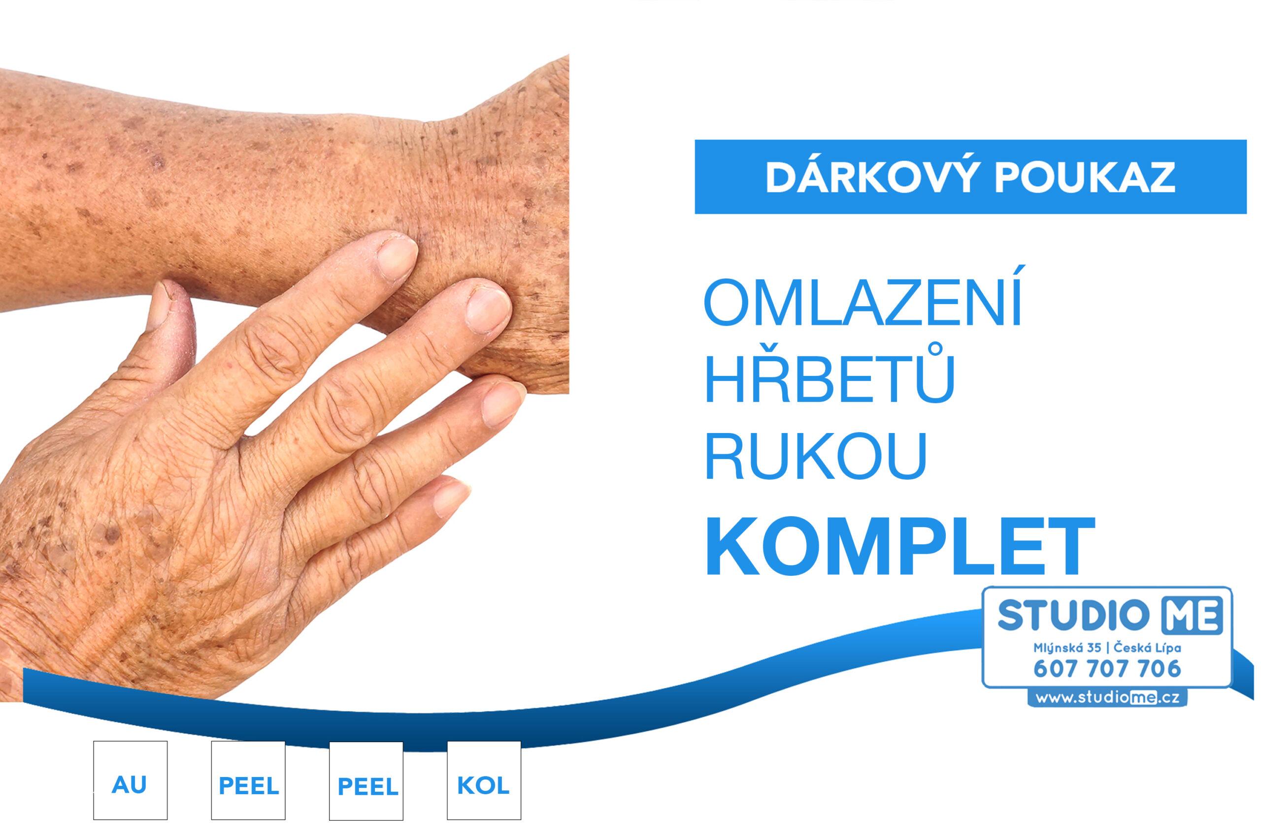 Omlazení rukou